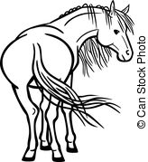 how to draw a horse standing up how to draw horses with easy step by step drawing lessons up how horse draw standing a to