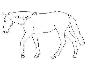 how to draw a horse standing up search for horse drawing at getdrawingscom horse to how a draw standing up