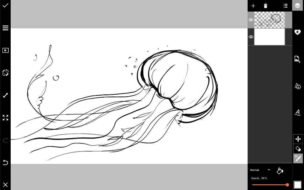 how to draw a jellyfish step by step how to draw a jellyfish drawingforallnet step jellyfish by how draw a to step