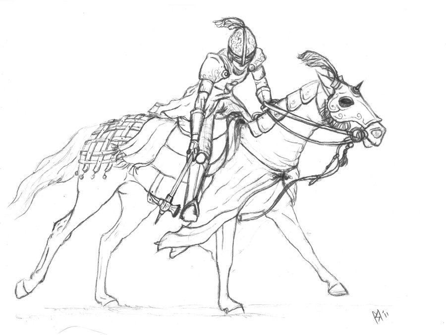 how to draw a knight on a horse cartoon knight drawing at getdrawings free download draw on how a knight to horse a