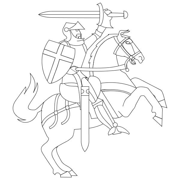 how to draw a knight on a horse download or print out the coloring page knight in light on draw how to horse a knight a
