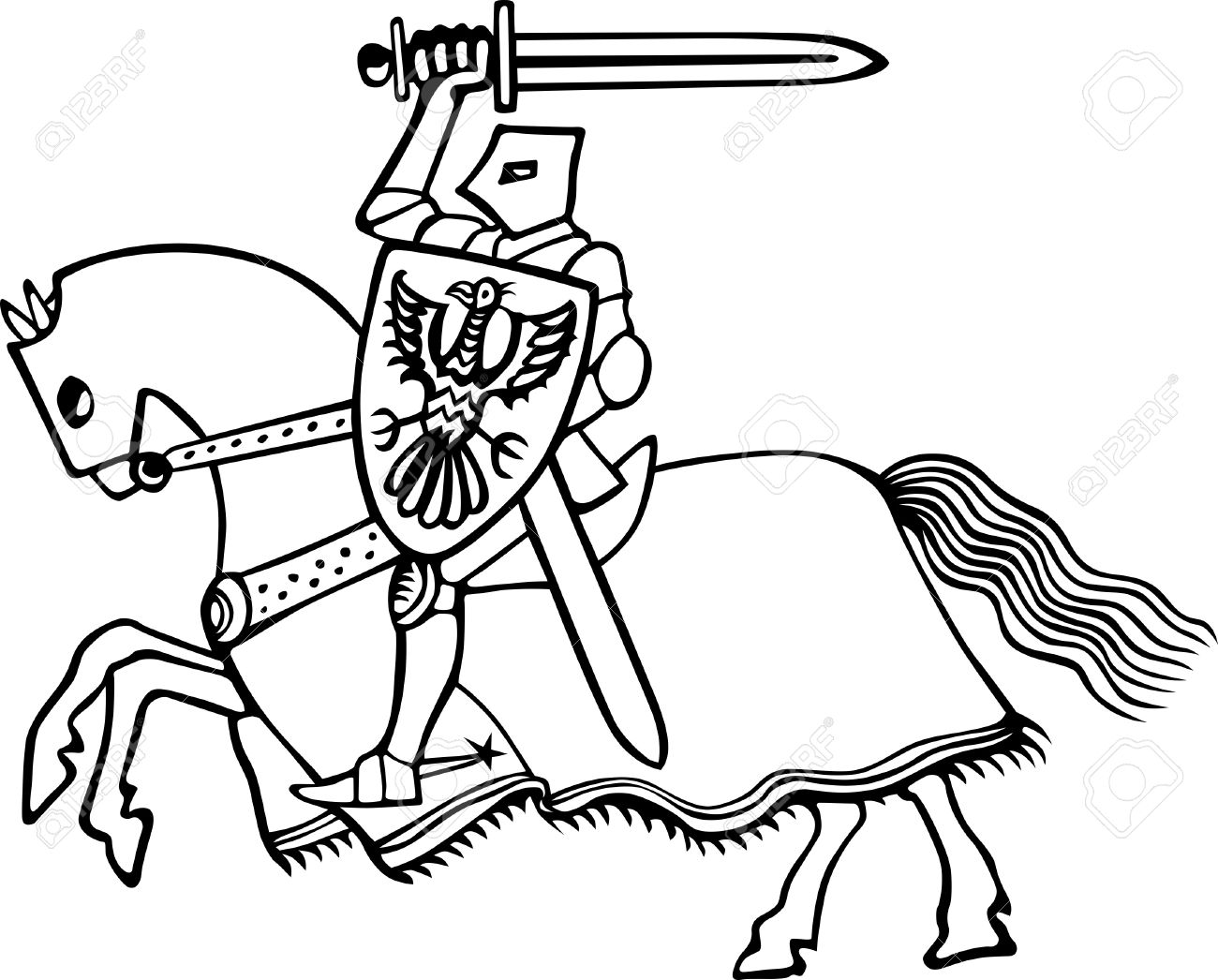 how to draw a knight on a horse horseshoesandhorseshoeing 121jpg 8811193 knight horse draw knight on to a a how