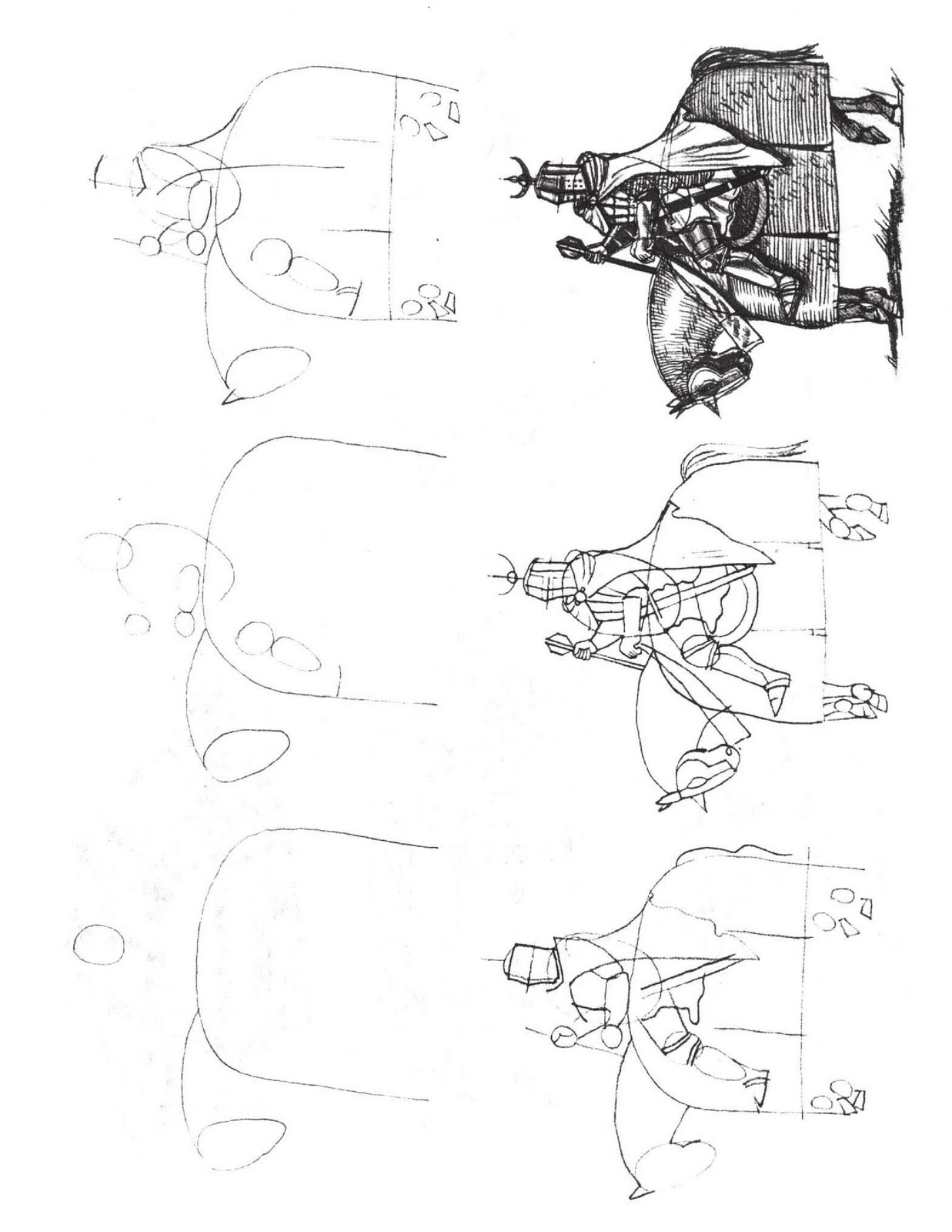 how to draw a knight on a horse knight on horseback drawing at getdrawings free download a draw on horse knight to a how