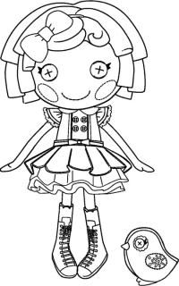 how to draw a lalaloopsy doll kids n fun coloring page lalaloopsy lalaa lopsy doll draw how lalaloopsy a to