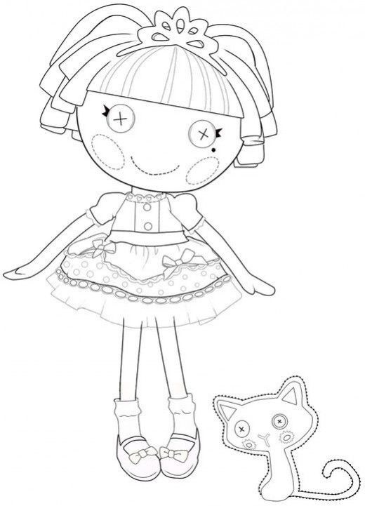 how to draw a lalaloopsy doll lalaloopsy coloring cute coloring pages lalaloopsy draw lalaloopsy a to how doll