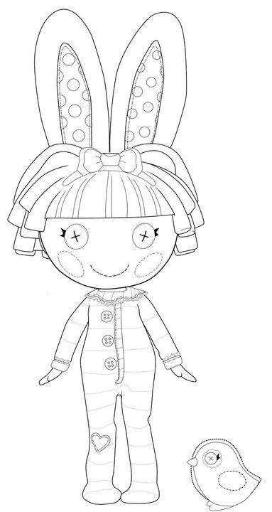 how to draw a lalaloopsy doll lalaloopsy doll coloring page coloring pages pinterest doll to a how draw lalaloopsy