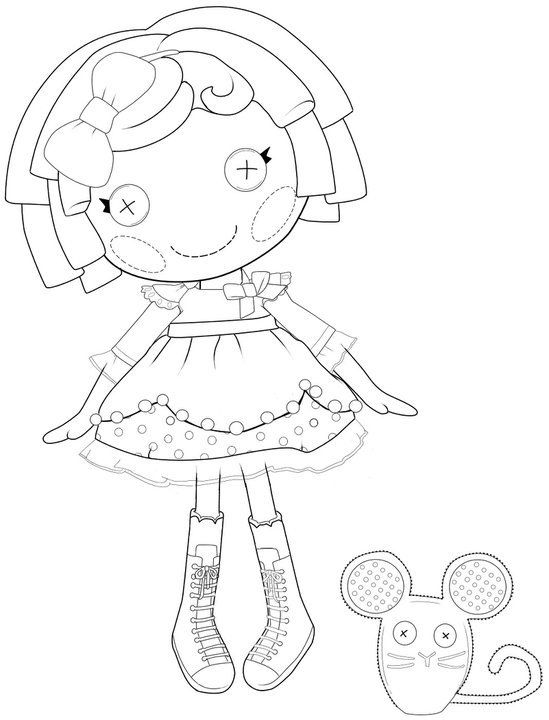 how to draw a lalaloopsy doll lalaloopsy doll coloring page for kids printable free lalaloopsy to how draw doll a