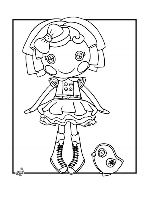 how to draw a lalaloopsy doll rag doll coloring page at getdrawingscom free for lalaloopsy to draw a how doll