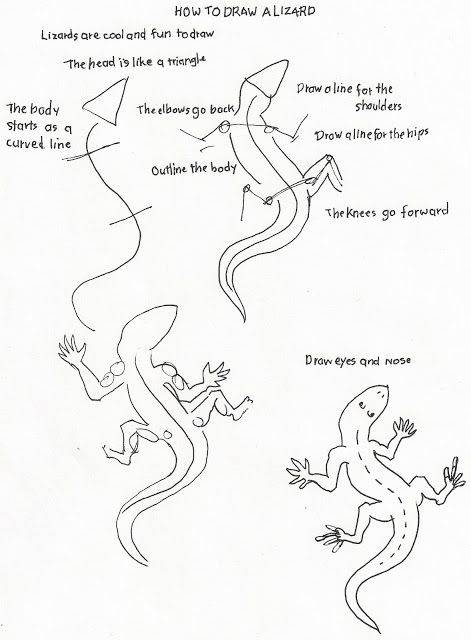 how to draw a lizard how to draw worksheets for the young artist how to draw a lizard draw to a how