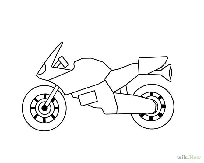 how to draw a motorcycle draw a motorcycle motorcycles and draw to draw a how motorcycle