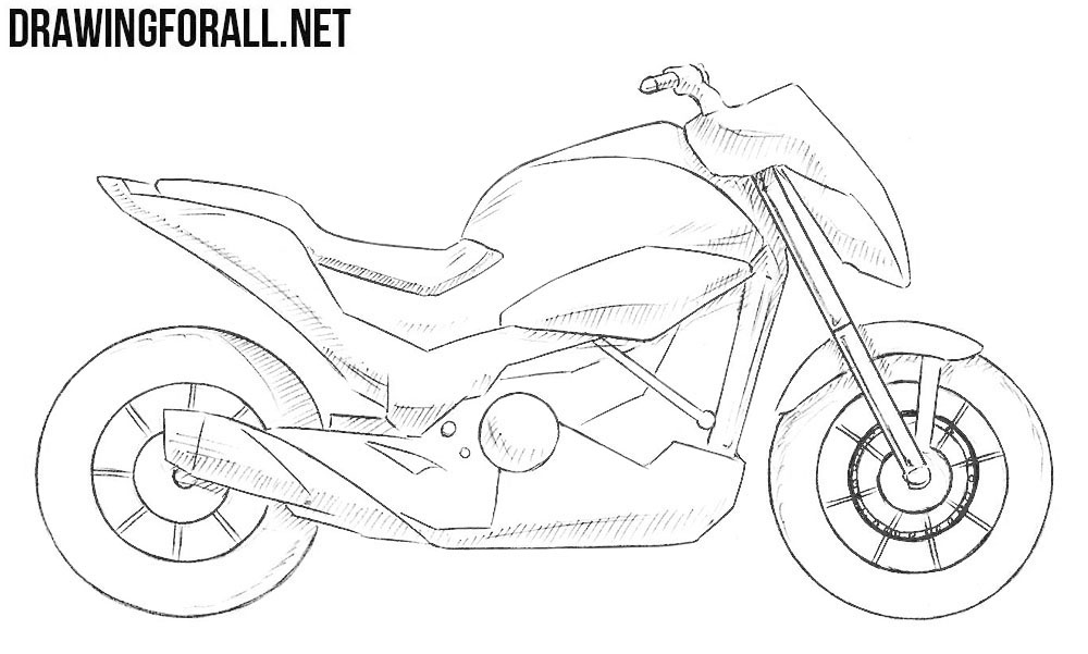 how to draw a motorcycle learn how to draw a chopper two wheelers step by step to a motorcycle how draw