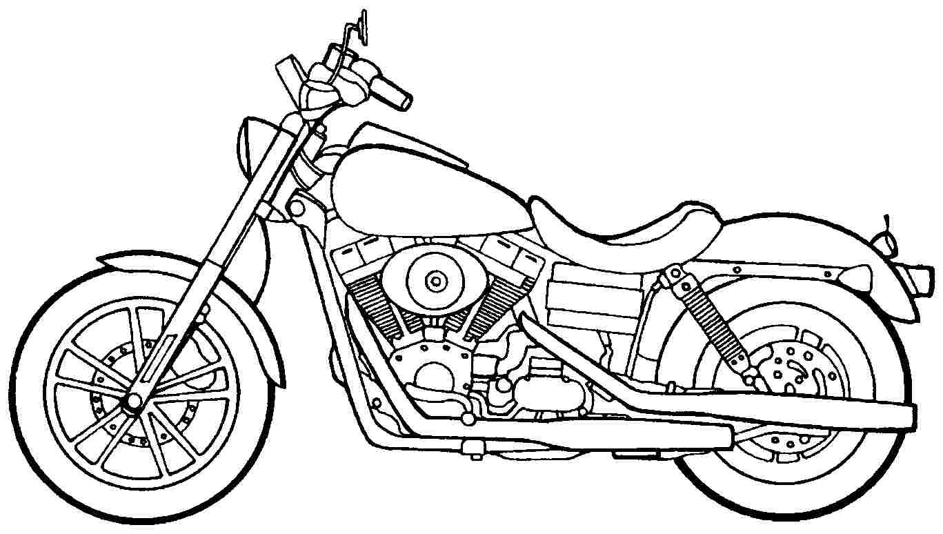 how to draw a motorcycle motorcycle drawing easy at paintingvalleycom explore a motorcycle how draw to