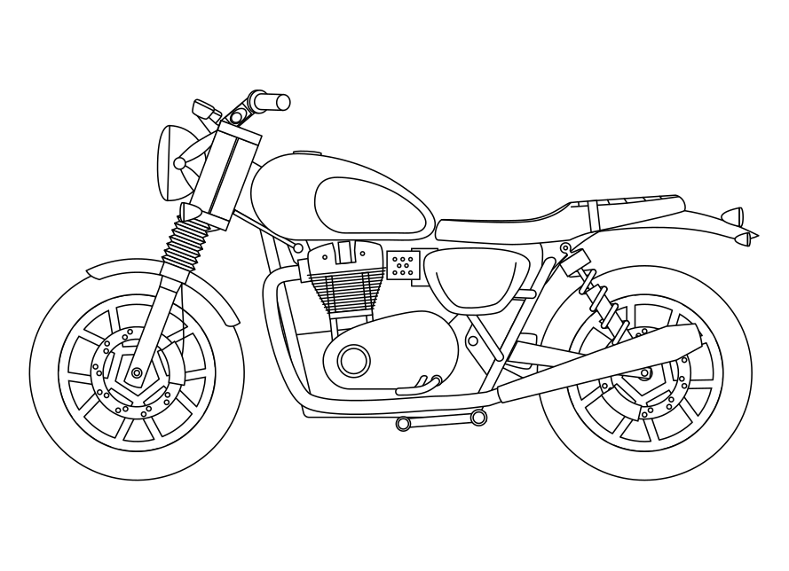 how to draw a motorcycle motorcycle line drawing at paintingvalleycom explore to a how draw motorcycle