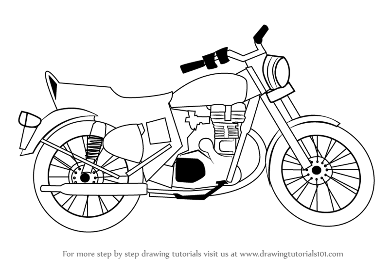 how to draw a motorcycle wefalling how to draw a easy cartoon motorcycle how motorcycle draw to a