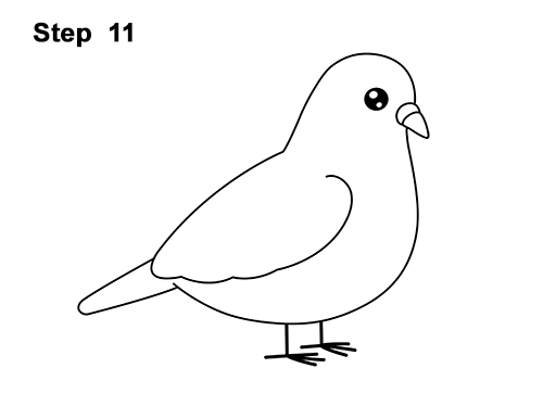 how to draw a pigeon step by step how to draw a bird step by step side view a to draw step pigeon step how by