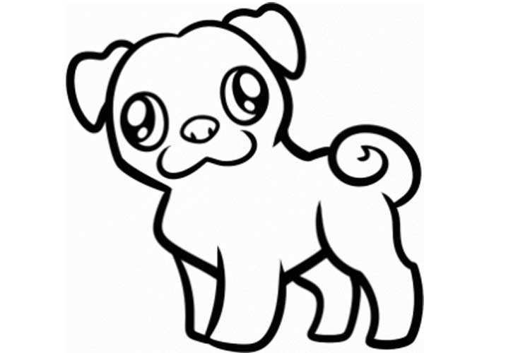 how to draw a pug face dog breed puppy pig the pug clip art pug face clip art how pug to draw face a