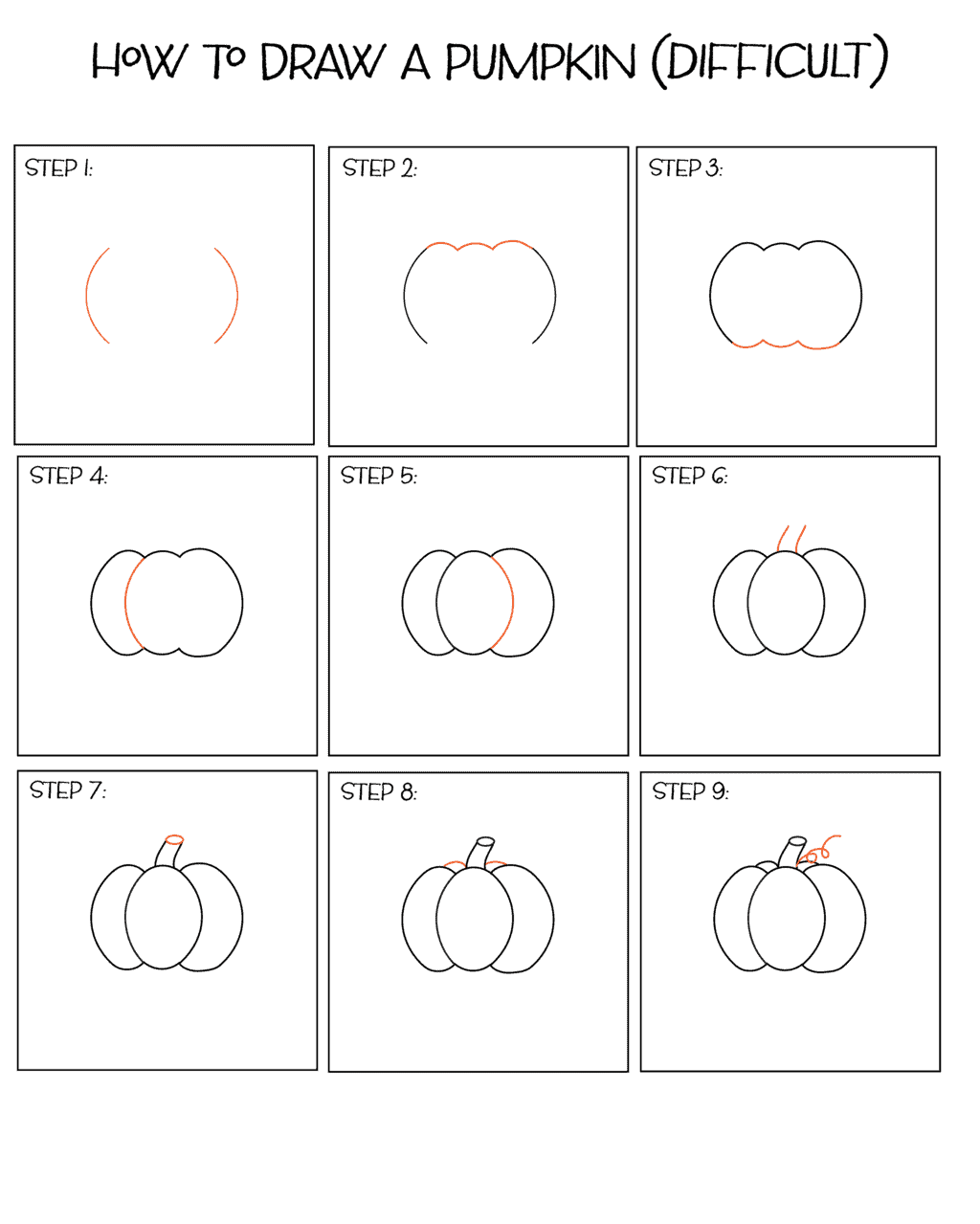 how to draw a punkin free pumpkin line drawing download free clip art free how draw a to punkin