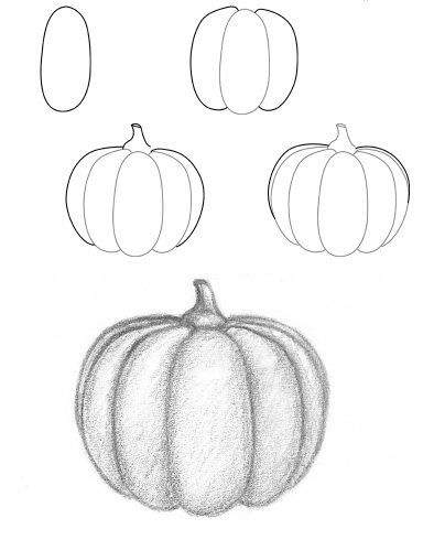 how to draw a punkin how to draw a cute pumpkin step by step halloween punkin to how draw a