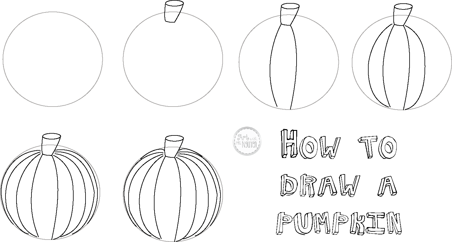 how to draw a punkin how to draw a pumpkin draw central punkin a draw to how