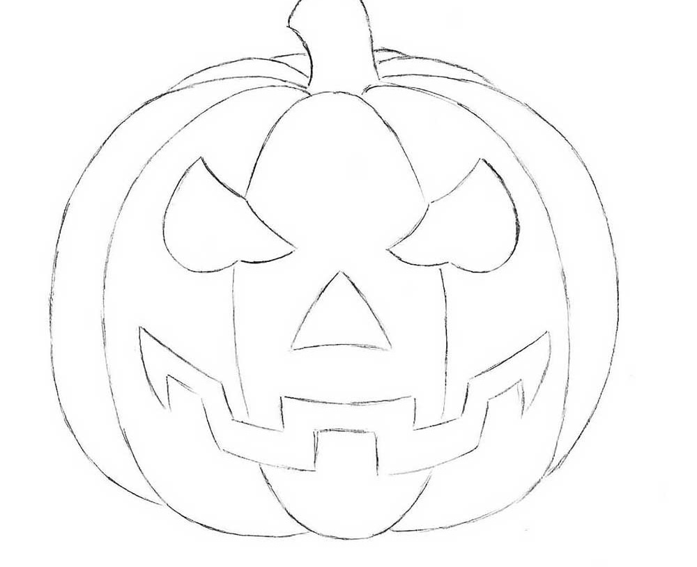 how to draw a punkin how to draw a pumpkin step by step drawing tutorials for a how to draw punkin