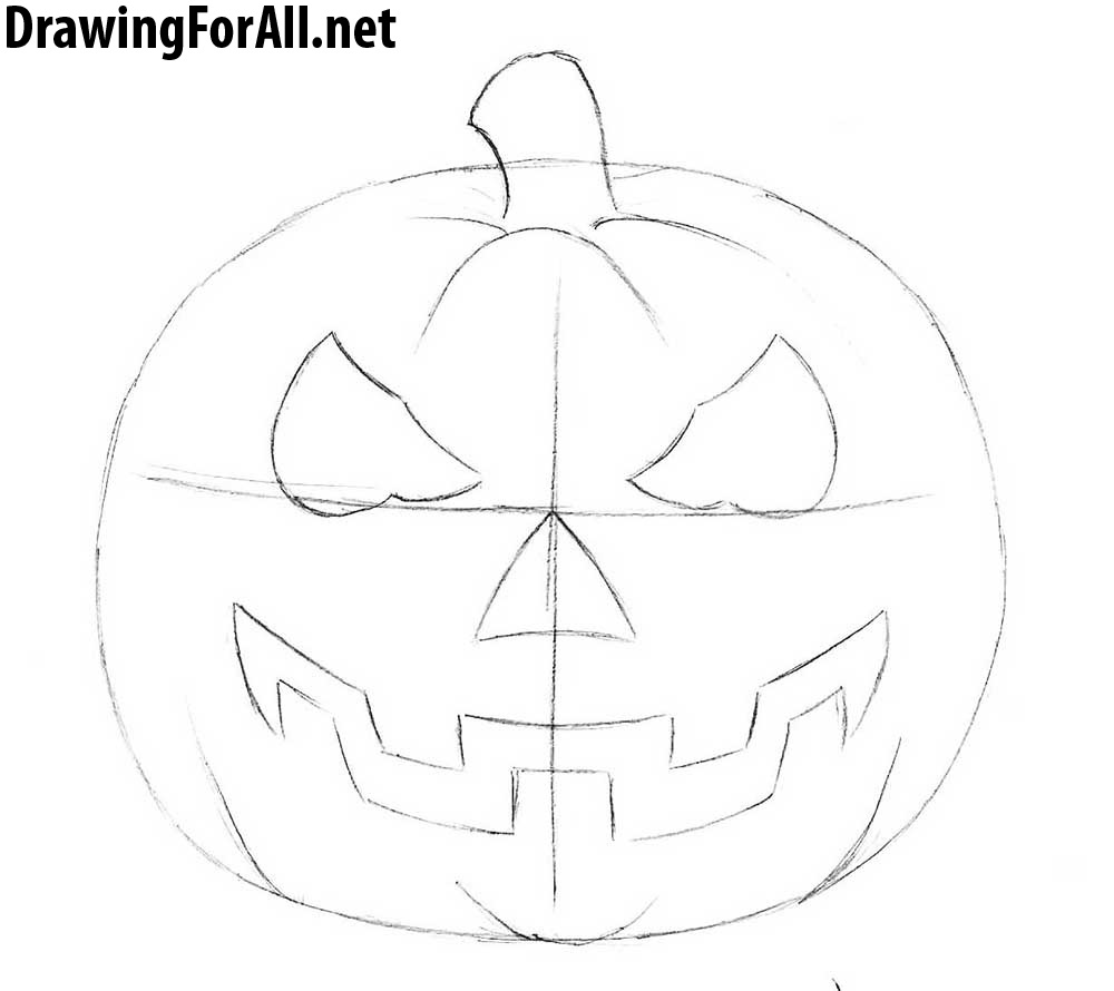 how to draw a punkin how to draw a pumpkin step by step guide how to draw how punkin a draw to
