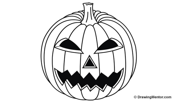 how to draw a punkin how to draw a pumpkin step by step tutorial draw how punkin a to
