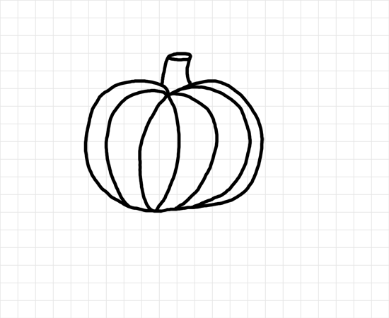how to draw a punkin learn to draw for kids halloween pumpkin drawing tutorial how punkin a draw to