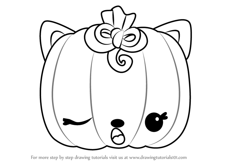 how to draw a punkin step by step how to draw paula pumpkin from num noms draw a how punkin to