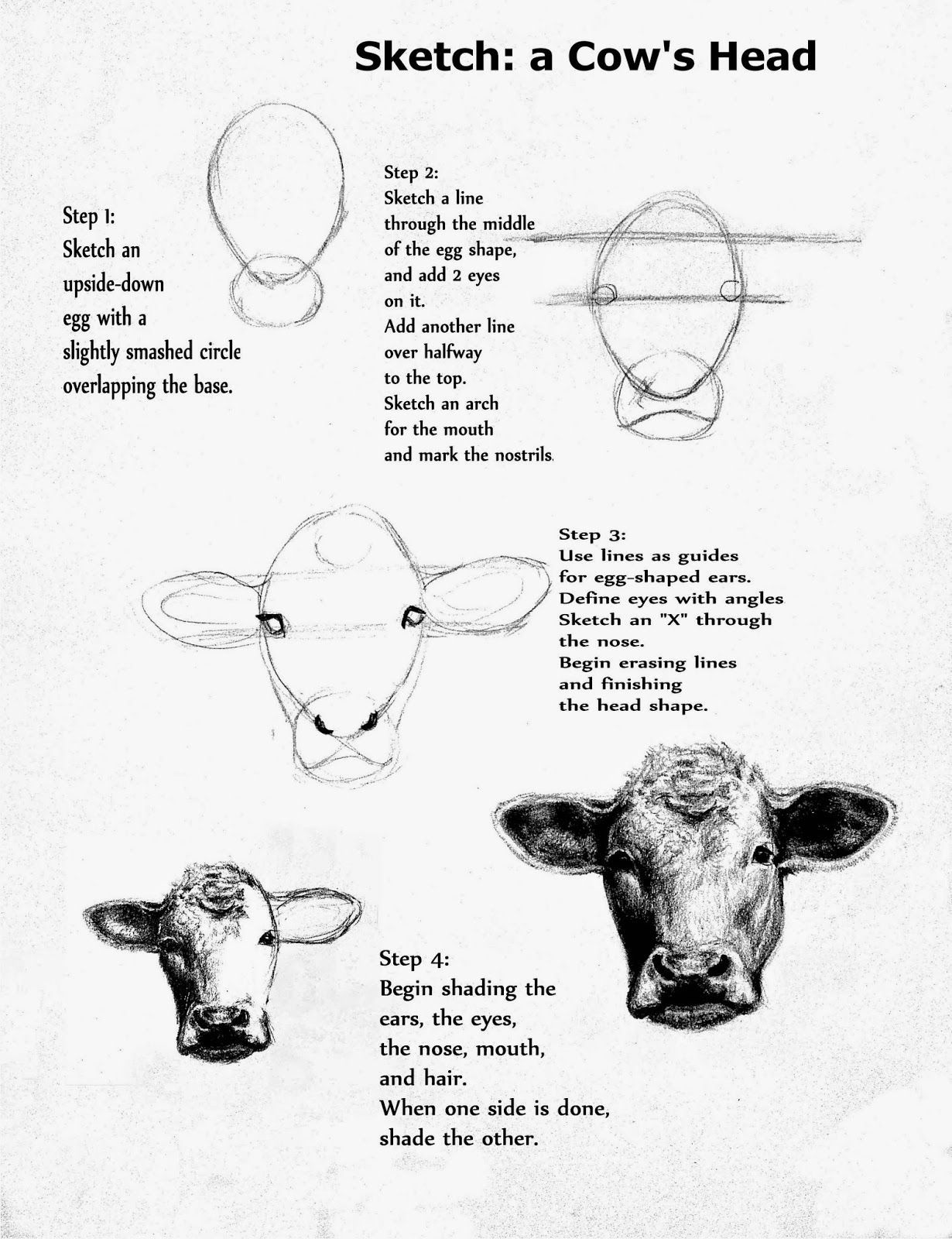 how to draw a realistic cheetah step by step image result for step by step cow drawing face cow to draw by realistic how a step step cheetah