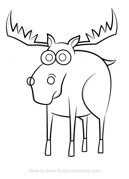 how to draw a realistic moose free moose coloring pages how realistic to draw moose a