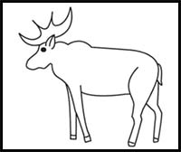 how to draw a realistic moose how to draw a realistic moose to a draw how moose realistic