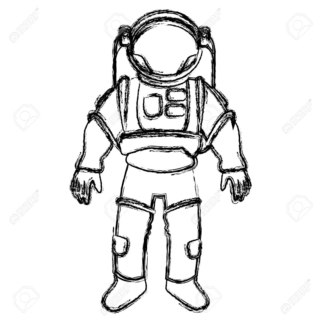 how to draw a space suit how to draw an astronaut step by step drawing tutorials how space to draw a suit