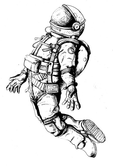 how to draw a space suit how to draw an astronaut step by step drawing tutorials how to a space draw suit
