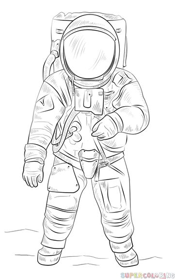 how to draw a space suit illustration of astronaut spaceman in suit astronaut to a how suit draw space
