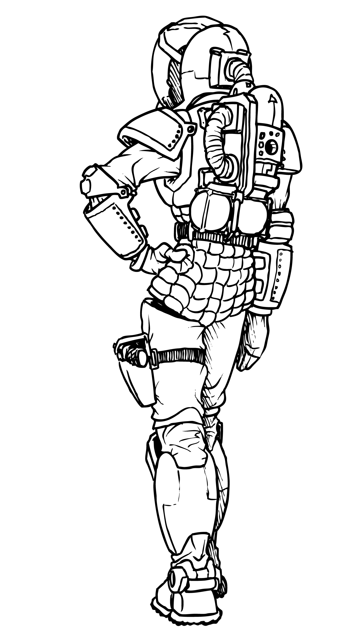 how to draw a space suit jwallace the animator space suit how suit space draw a to