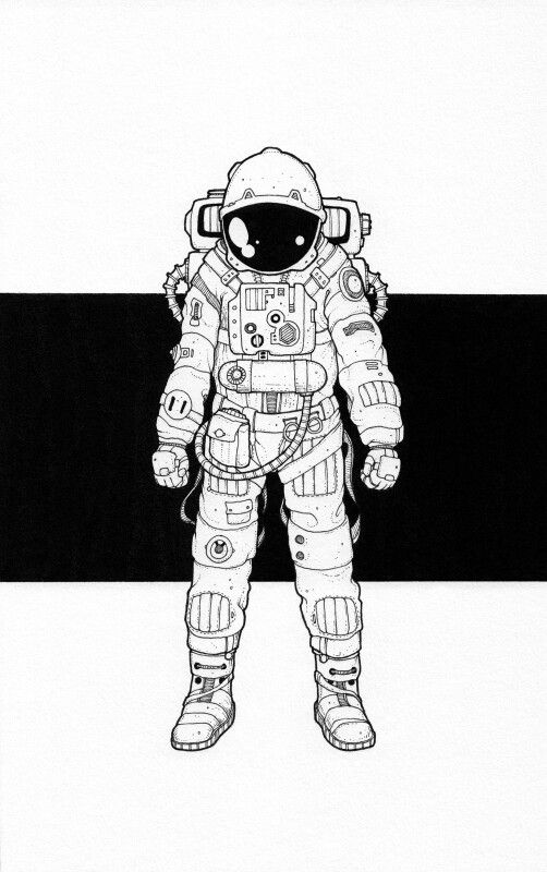 how to draw a space suit simple astronaut drawing at getdrawings free download suit to draw how space a