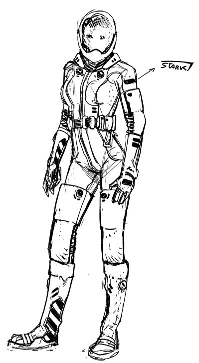 how to draw a space suit space suit drawing at getdrawings free download to how a suit draw space