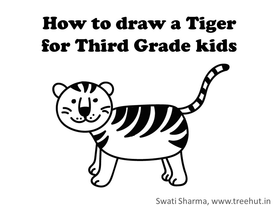how to draw a tiger tiger drawing images at getdrawings free download tiger how a draw to
