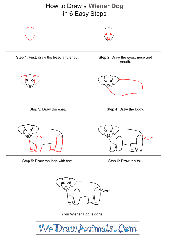 how to draw a wiener dog weiner dog drawing free download on clipartmag wiener to draw dog a how