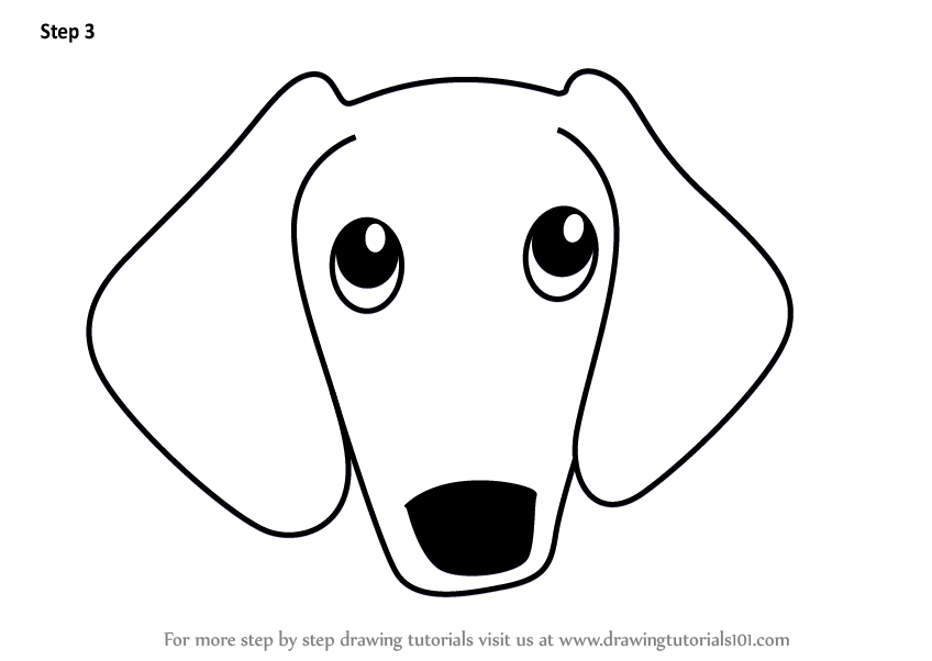 how to draw a wiener dog wiener dog sketch at paintingvalleycom explore draw dog a wiener to how