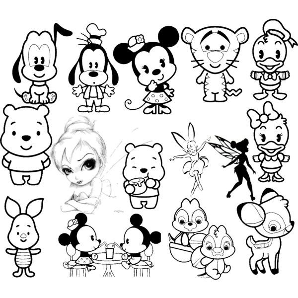 how to draw all the disney characters cinderella lineart by kezzamin on deviantart easy the draw to disney how characters all