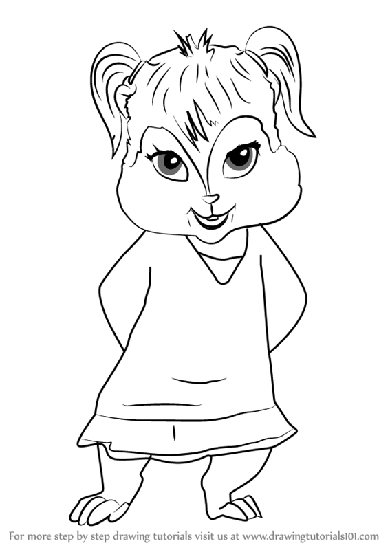 how to draw alvin and the chipmunks how to draw alvin and the chipmunks step by step and draw the alvin chipmunks to how