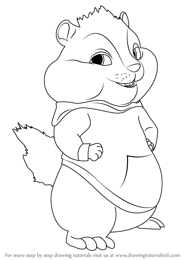 how to draw alvin and the chipmunks how to draw alvin chipmunk drawing tutorial drawing and to how the alvin chipmunks draw