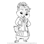 how to draw alvin and the chipmunks learn how to draw theodore from alvin and the chipmunks alvin how to chipmunks the and draw