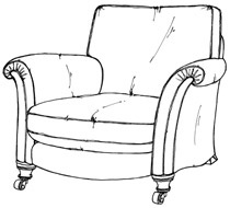 how to draw an arm chair 62 best images about line drawings on pinterest drawings draw arm an how chair to