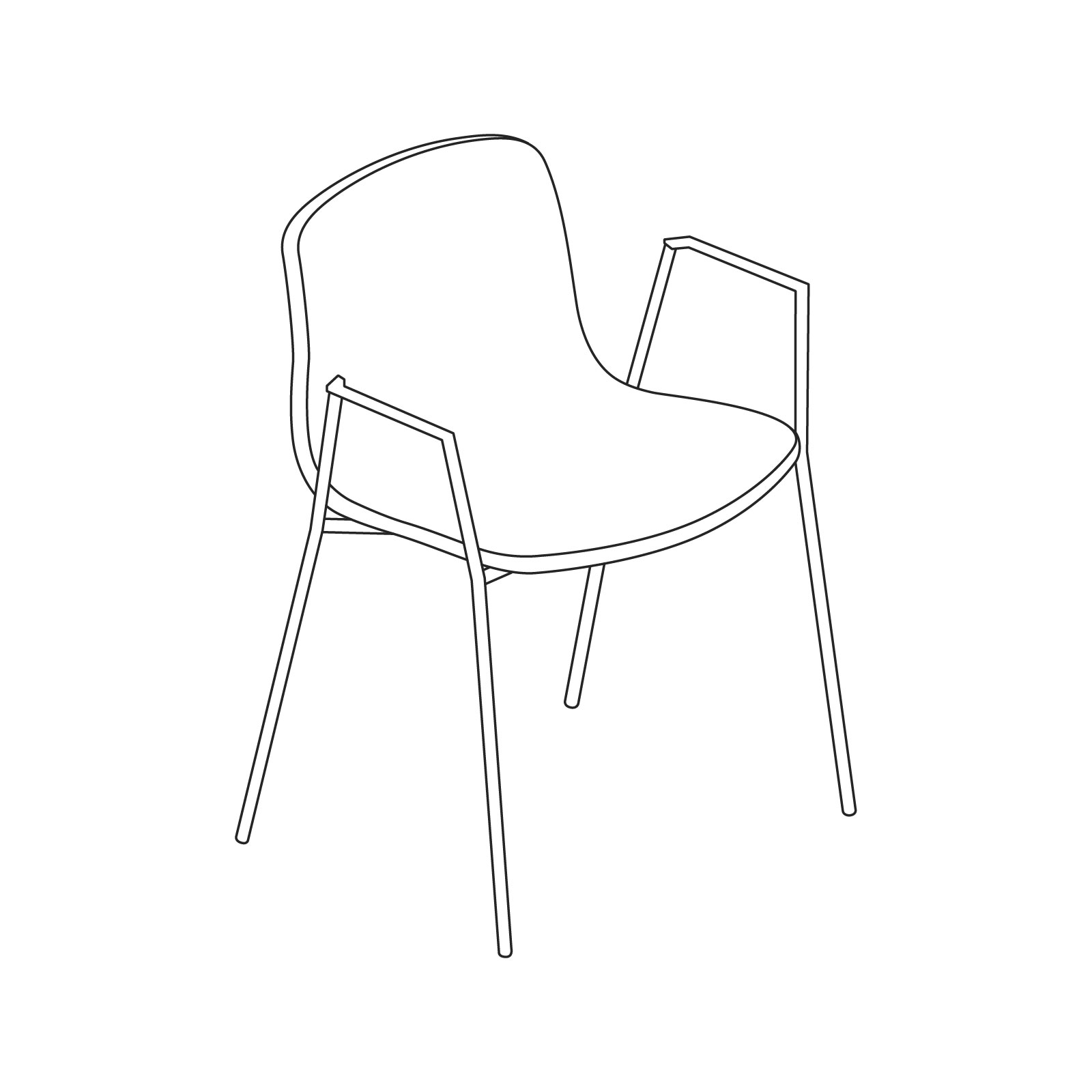 how to draw an arm chair about a chair side chair herman miller arm to how draw chair an