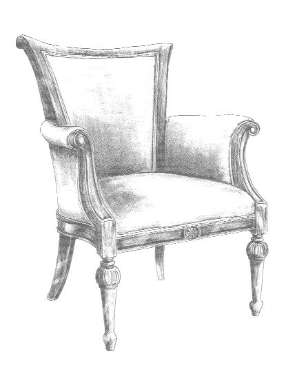 how to draw an arm chair chair sketch betty jean collection bespoke chair arm an how to draw