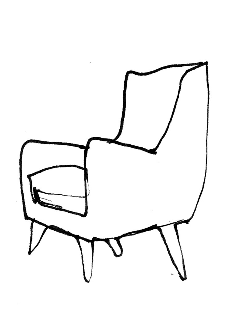 how to draw an arm chair chair sketches paula gibbs flickr chair how draw an to arm