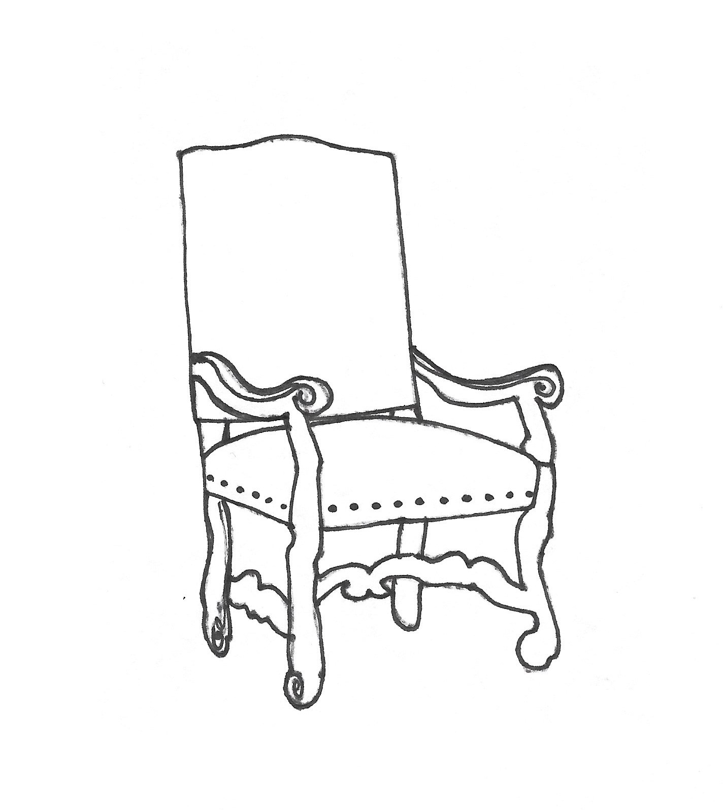 how to draw an arm chair id render how to draw a round table and four chairs arm draw how chair to an