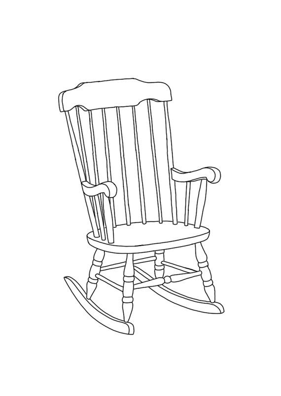 how to draw an arm chair rocking chair linear line hand drawing a6 by how arm to chair draw an